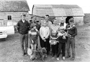 Famille Aurele Fraser 1971