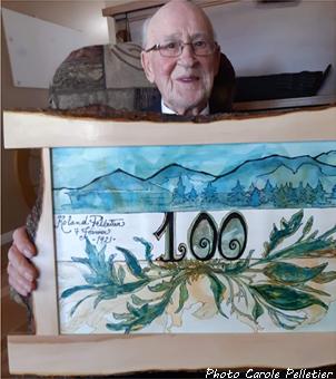Roland Pelletier 100 ans